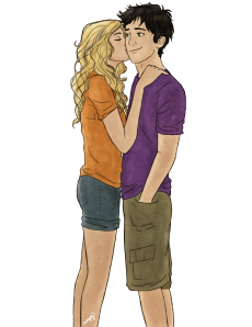 Percy/Annabeth art by drnightflower @ DeviantArt